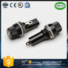 5X20mm Electrical Panel Mounted Glass Fuse Holder for Radio Auto Stereo Rotary Switch