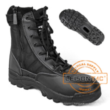 Military Tactical Combat Boots of Cowhide Leather ISO Standard