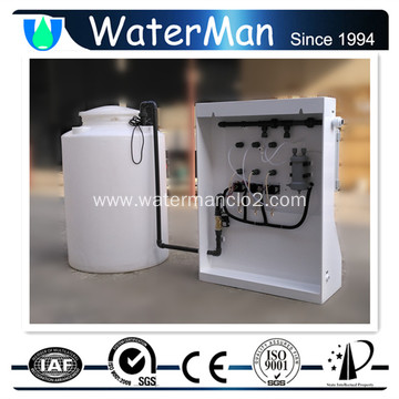 Low Pressure Compact Chlorine Dioxide System