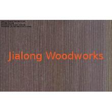Brown China Oak Engineered Wood Veneer Sliced Cut For Furni