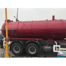 Camión de limpieza de alcantarillado Camión de succión de aguas residuales 16CBM