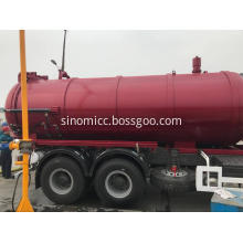 Sewer Cleaning Truck Sewage Suction Truck 16CBM