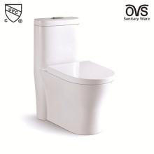 Дешевые СКП цельный керамический туалет
