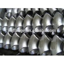 EN10253 alta calidad A420 WPL 6 Codo de tubo de acero de carbono