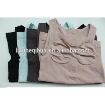 Camiseta sin mangas de las mujeres Camiseta sin mangas del chaleco de Shapewear del chaleco