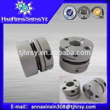 Ball screw motor coupling SGS57C 12mm-25mm with material aluminum