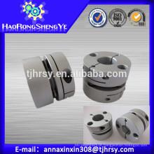 Acoplamento do motor de parafuso de esfera SGS57C 12mm-25mm com material de alumínio