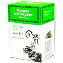 Saco de chá da pirâmide com chás clássicos chineses famosos