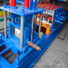 Top selling channel cutting roll forming machine cz purlin machine
