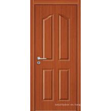 Diseño hermoso / Puerta interior de MDF más popular / de alta calidad