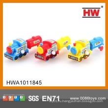 Мультфильм Смешные дети W / U автомобилей игрушки Мини игрушечный поезд