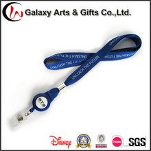 Retractable Reel ID Badge Holder with Lanyard