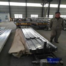 Feuille de toiture en acier galvanisé pour la construction