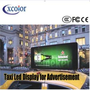 Bus Top Advertising P5 LED Display Screen