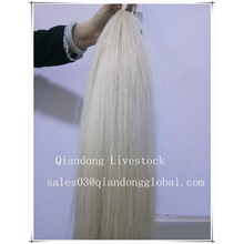 White Horsetail Hair Extensions