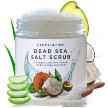 Dead Sea Salt Exfoliating Body Scrub Deep Cleansing Foot & Body Scrub Exfoliator