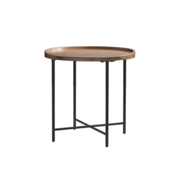 Round side table set