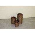 Classic Natural Water Hyacinth Vase Wicker Furniture - Set of 3