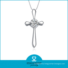 925 Silver Jewelry Fashion Pendant Necklace with Cheap Price (N-0161)