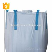 Sac de sel de 1 tonne pp sacs tissés 1 mt grand sac