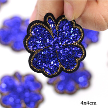 beaded Flowers Patches Sew on Embroidery patch
