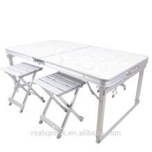 Niceway figure folding picnic table Set de mesa de picnic portátil de 4 asientos