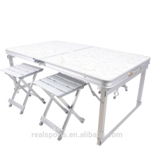 Niceway figure folding picnic table 4 seat portable picnic table set