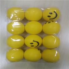 プロモーション Pu 笑顔印刷ストレス ボール
