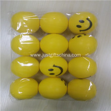Promotional Pu Smile Printed Stress Balls