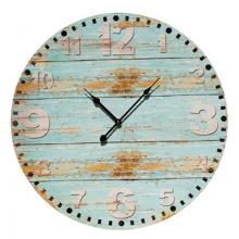 Houten print derocative klok