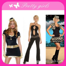 Black Sexy Party Costume for Adult