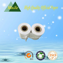 Uncoated Thermal Material Printing Type Roll Paper 80GSM