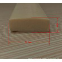 Tiras de goma de silicona de grado alimenticio