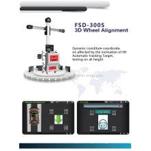 Дрф-300С выравнивание колеса 3D