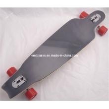 "40X10 ""tablero largo Et-Lb009 8 pliegues de madera de arce Drop Down Drop Throu largo Skateboard"