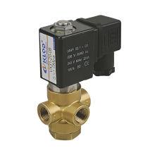 VX31 / 32/33 Serie de líquido de acción directa cerrado VITON alta temprature latón / 32 válvula solenoide
