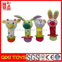 Sicherheit Rassel Trommel Kinder Spielzeug Glocke Plüsch Baby Rassel Spielzeug
