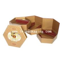Múltiples capas de caja de chocolate de regalo rígido