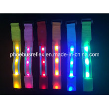 5,0 cm X 35 cm Reflektierende LED Armband En13356