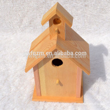 fábrica directa nueva casa de madera sin terminar del pájaro al por mayor