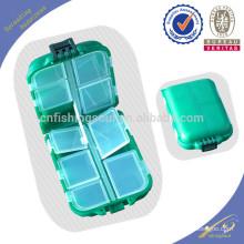 Caja de almacenamiento de plástico para aparejos de pesca FSBX006-S003