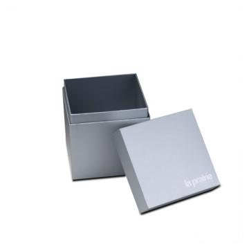 Simple Design Candle Packaging Silverpapper