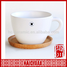 HCC 2013 products ceramic bamboo coffee cup and saucer