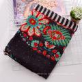 Mode Blume gedruckt Frauen Viskose Seidenschal (YKY1150)
