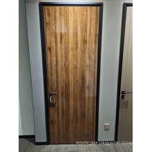 Single Leaf Aluminum Flat Plain White Hollow Interior House Doors