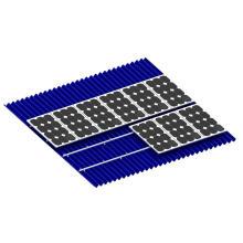 Aluminum Solar Photovoltaic Mounting Systerm Solar Rail Frame