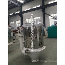 Secador de calefacción de plástico al vacío Hopper inoxidable