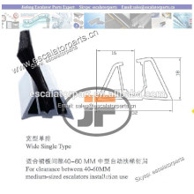 Escalator Spare Parts / Escalator Safety Brush
