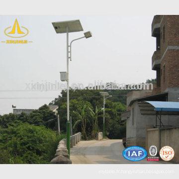 Poteau solaire de rue