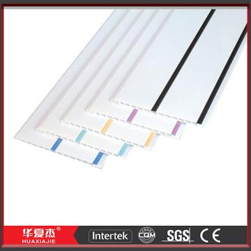 Paneles de techo de PVC blanco de surco los paneles de pared